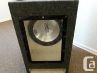 THIS CLARION 12 INCH 500W SPEAKER IN IN A BOOM BOX,AND