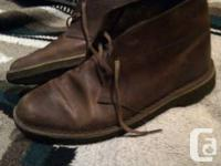 These Clarks Desert Boots have only been worn a handful