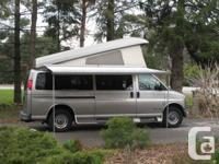 350 V8 Chev Savana, 2002, 156,000 km. Sleeps 2, has