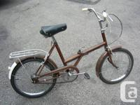 Raleigh Folder - Classic folding bike from 1972 made in