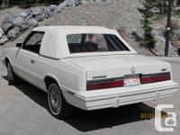 Make Chrysler Model LeBaron Colour WHITE Trans