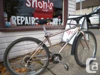 """Classic 1995 Bianchi Osprey with a 15"""" structure. This"""