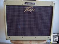 i have a early to mid 2000 Tweed Peavey Classic 30 with