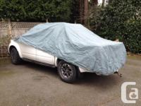 """Great condition car cover fits full size sedan 191"""" to"""