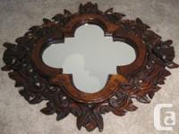 Primitive design mirror $220.  Vintage syrico mirror