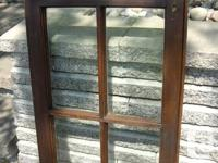 GRAPHIC 1,2,3,: Antique glass with bubbles window with