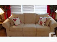 High end classic couch - paid $2500 at The Bay for it