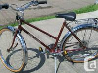 Vintage cruiser bike 6 rate made in Canada for Sears in