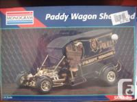 Version Kits:. 1. Paddy Wagon, Program Rod, 1:24;. 2.