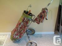 MacGregor Pro Just Classic Vintage Golf Bag & Bag Child