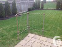 Building Wrought Iron Gate -Collection of 2. Include