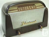 We have classic and antique mantle radios offered