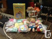 I am selling a great deal of cabbage area kids items,