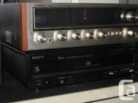 I'm marketing my complete vintage stereo device.  1).