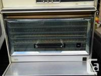 Really uncommon vintage 1950s oven and stove top in
