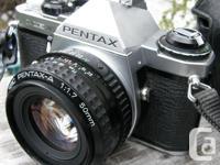 Selling a Classic Pentax ME SUPER 35mm film camera.