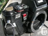 Selling a Classic Pentax Program Plus 35mm SLR film