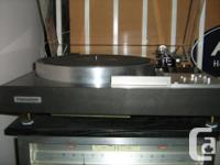 This is not an ordinary Japanese turntable that you see