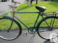 Classic Raleigh 3 speed bike (1956) Made in England