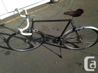 Vintage Raleigh Road Bike - Flat Black - 400 OBO New