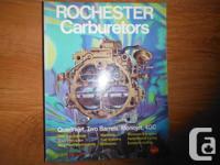 """""""Rochester Carburetors: Quadrajet, 2 Barrels, Monojet,"""