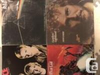 80 records with jackets in fair to very good condition.