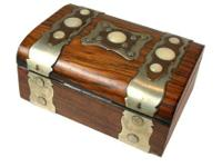 Description:. A perfectly crafted antique cabinet box,