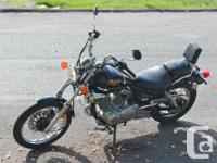 Classic Route 66 Yamaha 250 V-Twin has been chosen by