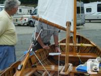 Classic, Ken Douglas built, lap strake, cedar over oak,