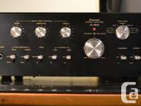 WORKS AND SOUNDS GREAT Matching TU-5900 tuner listed