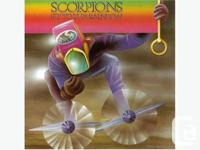 6 Classic Scorpions Vinyl Lp's / Records Fly to the