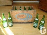 Vintage Case of Kist Eco-friendly Tag Ginger Ale 30 oz