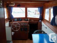 36 foot Converted gillnetter with a hull of cedar on
