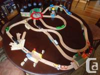 Classic wooden Thomas the train collection in excellent