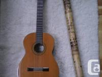 Eastern guitar, brand name Aria. Bought brand-new in