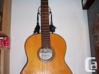 Vintage Kent Classical Guitar model Valencia . Research for sale  Ontario