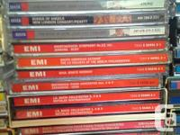Around 300 classical music cds . Beethoven, Mozart,