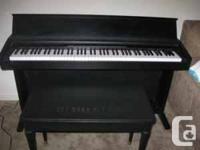 Classroom used Kawai digital piano with 3 sounds, a