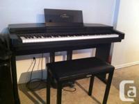 Perfect condition Clavinova CVP-20 yamaha piano.  Comes