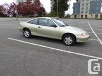 Make Chevrolet Model Cavalier Year 2002 Colour Gold