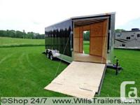 This 7x16 or 21' w/ V-nose Enclosed Snowmobile or Multi