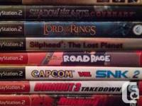 Ps2-3 games up for grabs as well as a sega genesis.