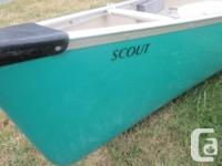 Clipper canoe in great clean condition. This is the