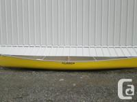 16. Clipper Tripper Canoe, rarely used and excellent