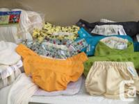 Cloth Diaper System for Sale by Owner, NOT USED, some