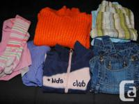 I sale my little girl's garments dimension 18 month to
