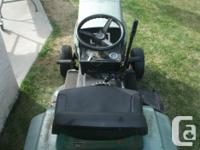OLDER USED CO-OP TURF TRAC 10/34 LAWN TRACTOR. 10HP.