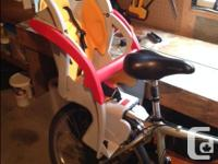 Co-Pilot Bike Seat for sale. I found it to be safe,