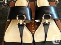 Brand new in box - Coach small heeled shoe. Bought from