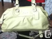 Hi we have 2 coach purses and 1 guess purse for sale I